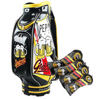 Guiote Golf Tour Bag Staff Bag + Head Cover set  • Prost •