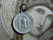 Antique Catholic Rare St. Joan of Arc Medal Pendant