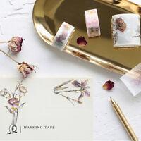 Stamping Effect Washi Masking Adhesive Tapes Home Decor Scrapbooking Craft DIY