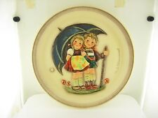 Hummel Goebel Stormy Weather first edition anniversary plate 1975 Tmk-5 With Box