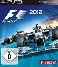 Playstation 3 Formel eins F1 2012 Formula Sehr guter Zustand