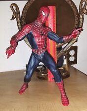 marvel spiderman movie 12 inch 2002 figure poseable figure legends universe
