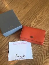 Mulberry French wallet Mandarin NWOT