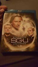 STARGATE SGU UNIVERSE 1.5 BLURAY 3 DISC SET WITH BONUS MATERIAL