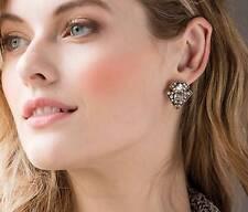 "+ Crystals - Art Deco - Stunning! Park Lane ""Falon"" Earrings - Antique Gold"