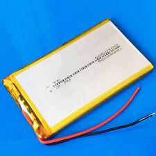 3.7V 5000mAh Li Polymer Battery for laptop Power Bank Mobile Phone MID 6060100