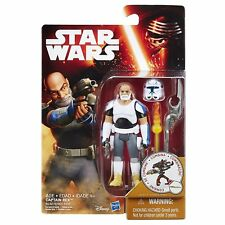 "STAR WARS Rebels Clone Wars Clone Commander Rex 3.75"" toy figure RARE"