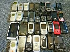 job lot of 33 samsung mobile phones - parts only