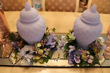 Set of 2 HYDRANGEA & BERRY CANDLE RINGS Valerie Parr Hill NEW QVC Sold Out