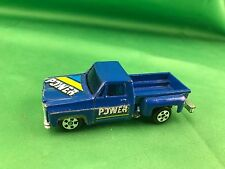 Diecast Hong Kong Pickup Blue 1/64