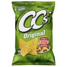 NEW CC's Proudly Australian Made Tasty Tortilla Original Nacho Corn Chips 175g