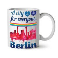 Pride Love Urban City NEW White Tea Coffee Mug 11 oz | Wellcoda