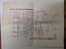 kawasaki wiring diagrams in Other Motorcycle Parts | eBay on