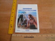 Atari DEFENDER Video Computer game instructions booklet VINTAGE