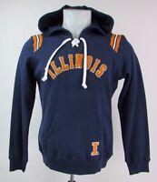 Illinois Fighting Illini Women's S-3XL Pullover Designer Hoodie NCAA Navy