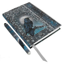 Raven Spell Book w/ Pen Embossed BOS Journal ~ Wiccan Pagan Metaphysical