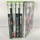Lot of 5 Xbox 360 Games Good to Very Good Condition
