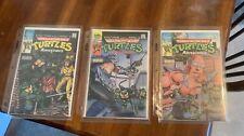 Teenage Mutant Ninja Turtles Adventures Mini-Series #1, 2, 3