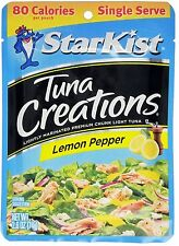 25 StarKist Tuna Creations Lemon Pepper Single Serve 2.6-Ounce Pouch