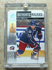 11-12 UD SPGU SP Game Used #126 Authentic RC Rookies Spectrum CAM ATKINSON /10