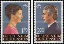 Timbres Personnages Liechtenstein 802/3 ** lot 6256
