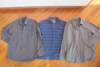Mens Sportscraft NWT Rugby & 2 L/sleeve Shirts Size Large
