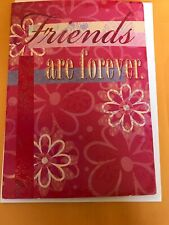 "Friendship Greeting Card Female Friends ""Friends Are Forever Guys Are Whatever�"