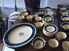 Gorgeous! BURLEIGH WARE  86 Pieces 12 Place Setting