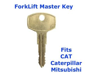 ForkLift Master Plant Key for CAT Caterpillar Mitsubishi Equipment Forklifts