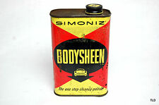 Original Simoniz Body Sheen Wax Can - Automobilia - Petroliana