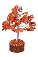 Carnelian Stone Spiritual Reiki Feng Shui Tree Home Décor Healing Crystal