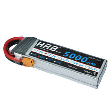 HRB 11.1V 5000mAh 3S 50C 100C LiPo Battery XT60 For RC Drone Helicopter Airplane
