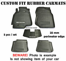 Hyundai Getz 2002- Rubber Car Floor Mats Custom Fit All Weather Alfombrillas