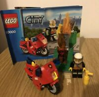 LEGO City Fire Motorcycle (60000) Unboxed With Manual
