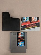 SUPER MARIO BROS. BROTHERS DUCK HUNT NINTENDO NES EXMT W MANUAL & DUST COVER