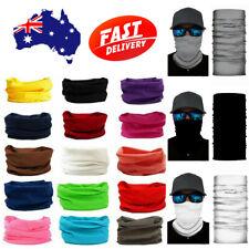 Solid Colour Bandana Face Shield Mask Fishing Headwear Neck Tube Scarf Balaclava