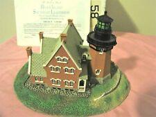 South East Block Island Lighthouse Replica Rhode Island by Danbury Mint