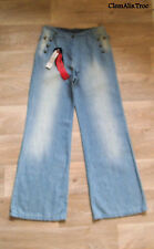 """JEAN AMPLE """"I.CODE BY IKKS""""  TAILLE 26 US SOIT 36/38 NEUF&ETIQUETTE VALEUR 120€"""