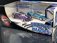 HOT WHEELS 35TH ANNIVERSARY SPLITTIN' IMAGES 2 CAR SET 1ST RUN TOOL!
