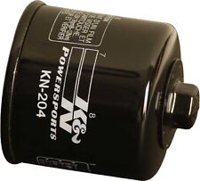 K&N Performance KN-204 Oil Filter 4-Stroke Engines Black Kawasaki Honda Yamaha