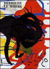 Joan Miro : 3 lithographies originales - Maeght 1973