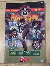 SCORE 1992-93 CALCIO Serie A giant 11x17 Poster Book = JUVENTUS Football Club FC