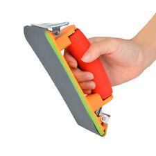 Sanding Block Hand Sander with Sponge Handle Sandpaper Jian