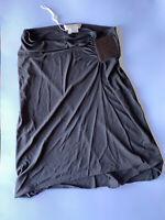 Michael Kors Womens Knee Length Pencil Skirt Brown Size 4