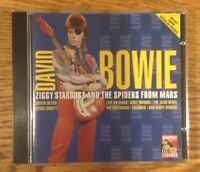 David Bowie - Ziggy Stardust Live 1972 - Audiophile Legends Gold Disc RARE! CD