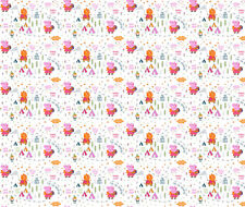 PEPPA PIG HAPPY FOREST FABRIC CP64658