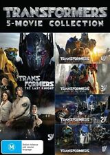 Transformers 5 Movie Collection BRAND NEW R4 DVD