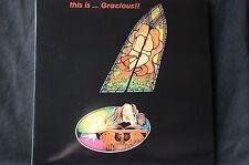 "Gracious This is ... Gracious Prog reissue 12"" vinyl LP New"