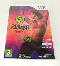 ZUMBA FITNESS Wii GAME ONLY, BRAND NEW SEALED