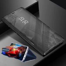 Pour Xiaomi Poco Pocofone F1 Vue Claire Smart Cover Noir Housse Étui Réveil